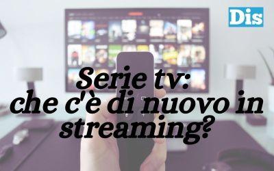 Quali sono le nuove serie tv streaming in uscita a settembre 2021?