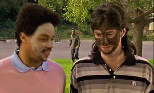 La scena della blackface di J.D. in Scrubs