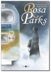 Rosa Parks - Copertina del fumetto edito da Beccogiallo