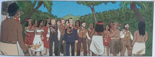 Il giovane Darwin accolto dagli indigeni
