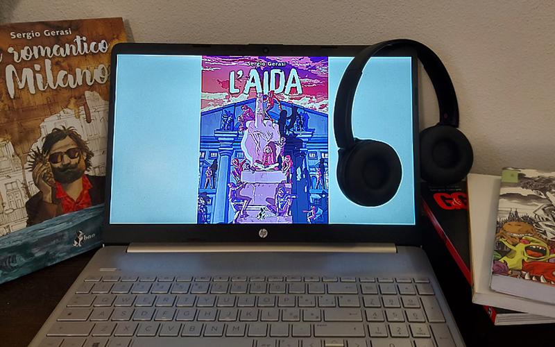 Una composizione con L'Aida di Sergio Gerasi in formato ebook