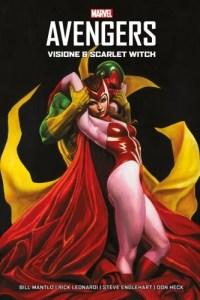 Copertina del volume dedicato alla storia tra Wanda e Visione nei fumetti: Avengers - Visione e Scarlet Witch