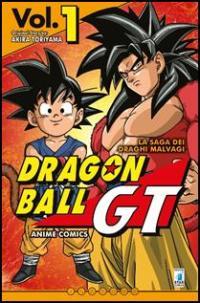 Copertina Dragon Ball GT manga