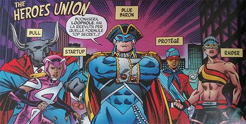 La Heroes Union al completo
