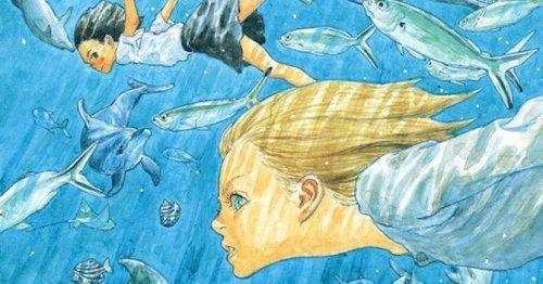 Un dettaglio da una copertina di Children of the sea