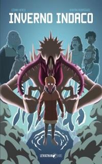 La copertina di Inverno indaco, di Herce e Rodrìguez