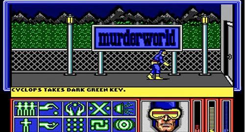 X-Men Commodore 64
