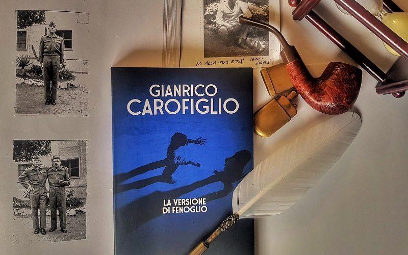 Copertina del romanzo La versione di Fenoglio, di Gianrico Carofiglio