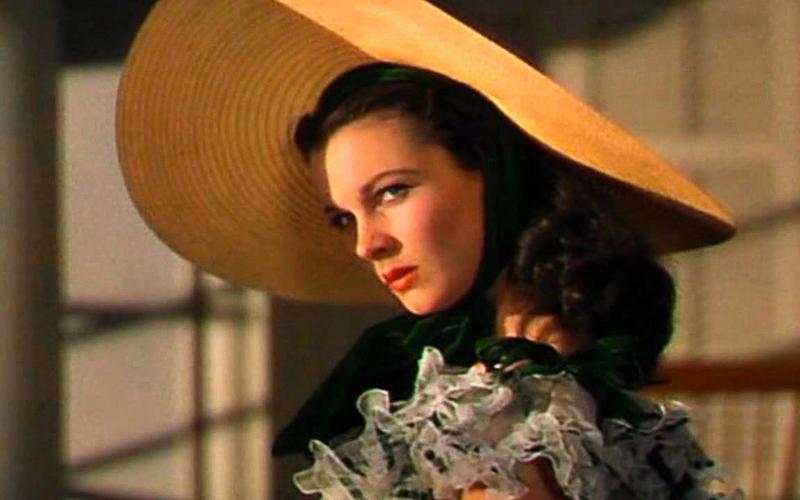 Rossella O'Hara, interpretata da Vivien Leigh, nel classico del 1939 Via col vento