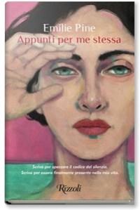 Copertina del romanzo Appunti per me stessa, di Emilie Pine