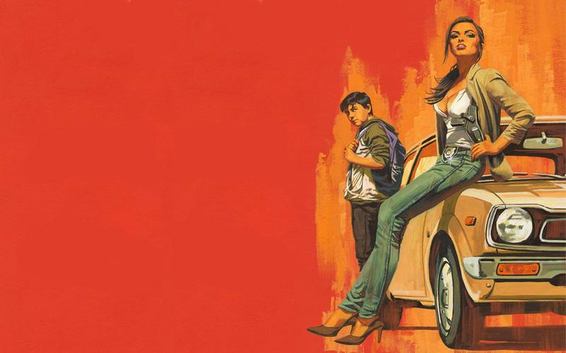 L'illustrazione sulla copertina di Later, il primo dei due romanzi di Stephen King a uscire nel 2021