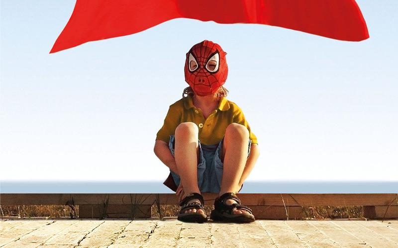 Un dettaglio della copertina di Un ragazzo normale, di Lorenzo Marone