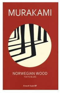 La copertina di Norwegian Wood, di Murakami Haruki
