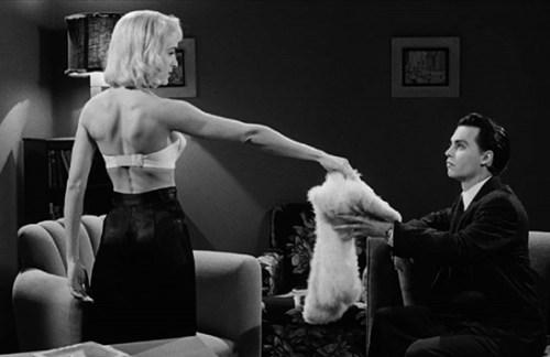 Ed Wood, di Tim Burton, non è solo uno dei tanti film ambientati nel passato: è un omaggio alla passione per il cinema