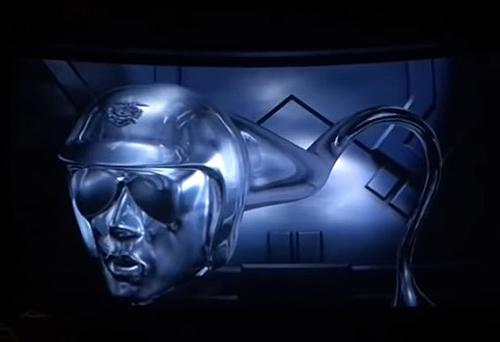 Altro esempio di morphing nel cinema anni 90: il T-1000 di Terminator 2