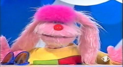 Il pupazz Uan di Bim Bum Bam, protagonista della tv per ragazzi anni 80 e 90