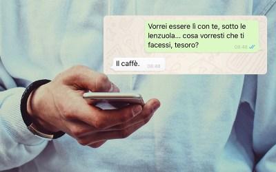 Sexting – Cosa significa e come farlo sull'autobus senza farsi sgamare (ok, forse questo no)