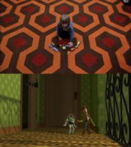 easter eggs in toy story, il pavimento di shining