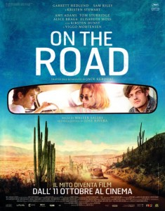 Locadina film On the road