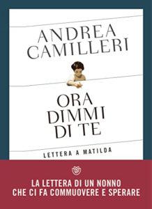 La copertina di Ora dimmi di te, di Andrea Camilleri