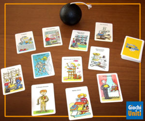 la bomba junior è un esempio di giochi da tavola da regalare ai bambini dagli 8 anni in su
