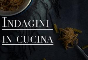La copertina del nostro articolo sui detective famosi e il loro rapporto con la cucina