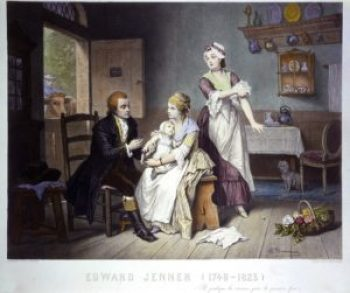 La storia dei vaccini non sarebbe la stessa senza Edward Jenner