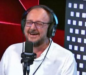 Antonello Dose in onda su Radio2 con Il ruggito del coniglio