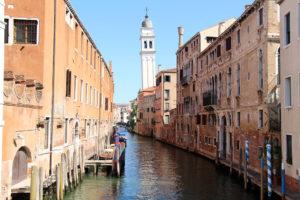 Chiesa di san Giorgio dei Greci, a Venezia. Fernand Braudel dedica alla città lagunare un intero capitolo