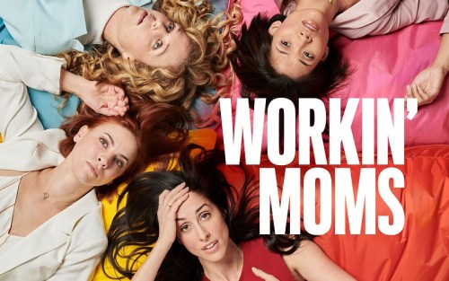 banner orizzontale workin' mums che ritrae le quattro mamme protagoniste del racconto