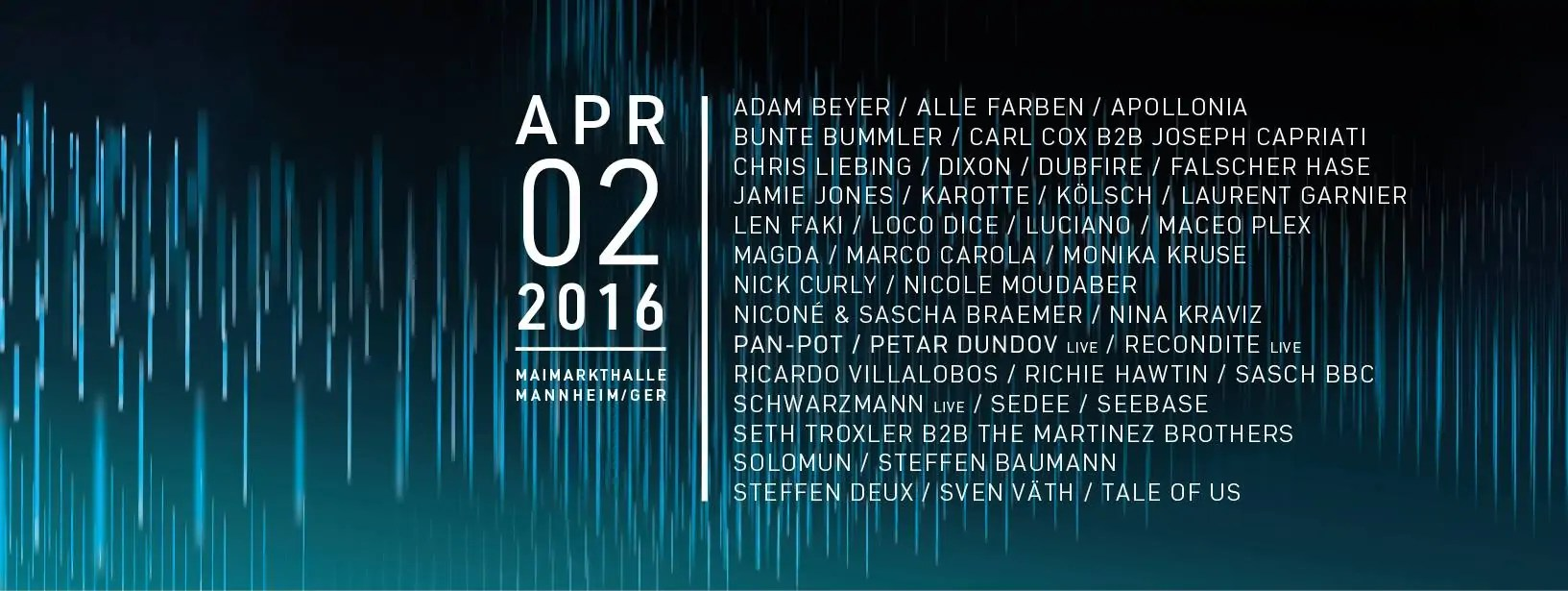 Time Warp Mannheim 2016