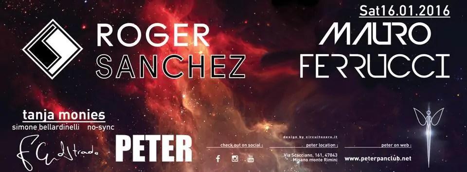 ROGER SANCHEZ PETER PAN 16 01 2016