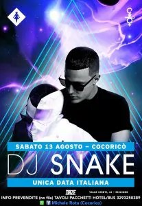 cocorico dj snake 13 agosto 2016