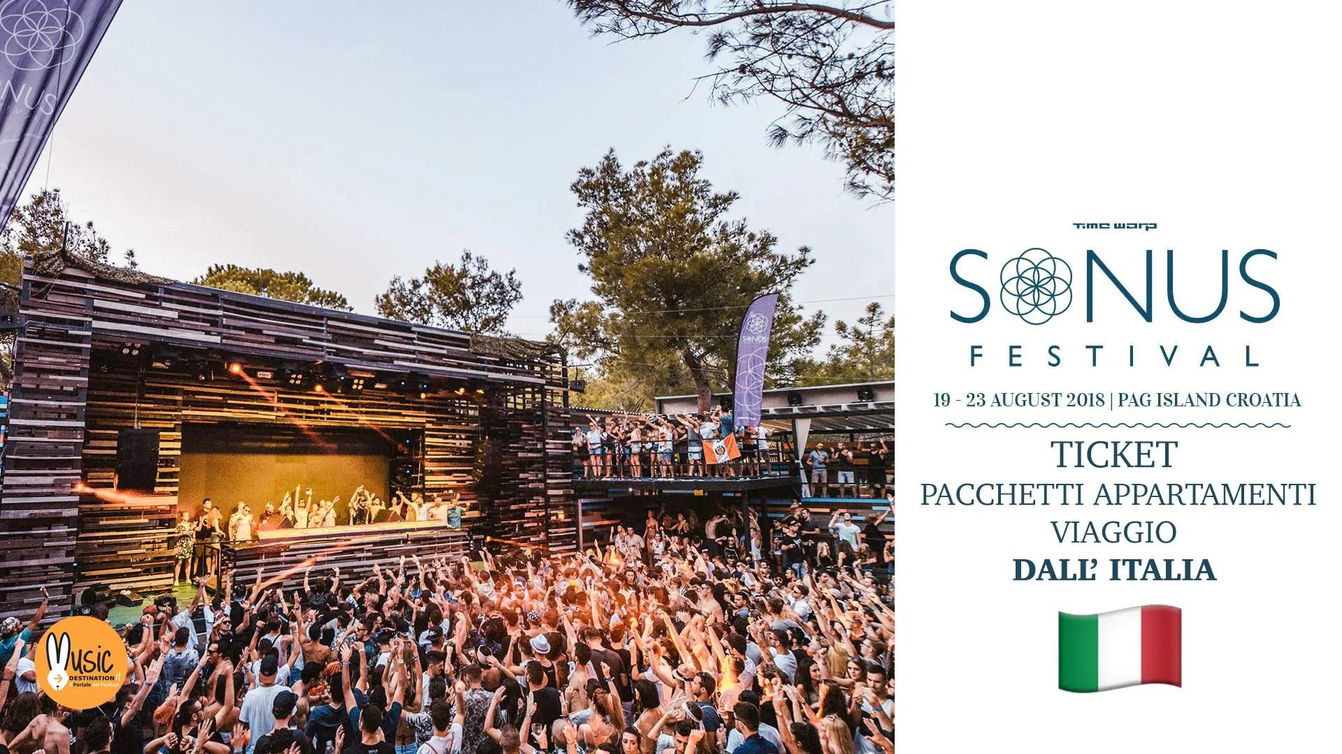 SONUS FESTIVAL 2018, 19 – 23 Agosto – Pag Croazia