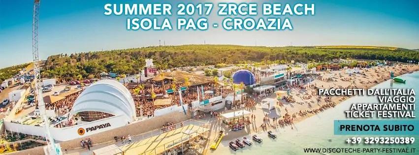 VACANZE A PAG ESTATE 2017 – VACANZE PER I GIOVANI – APPARTAMENTI EVENTI FESTIVAL