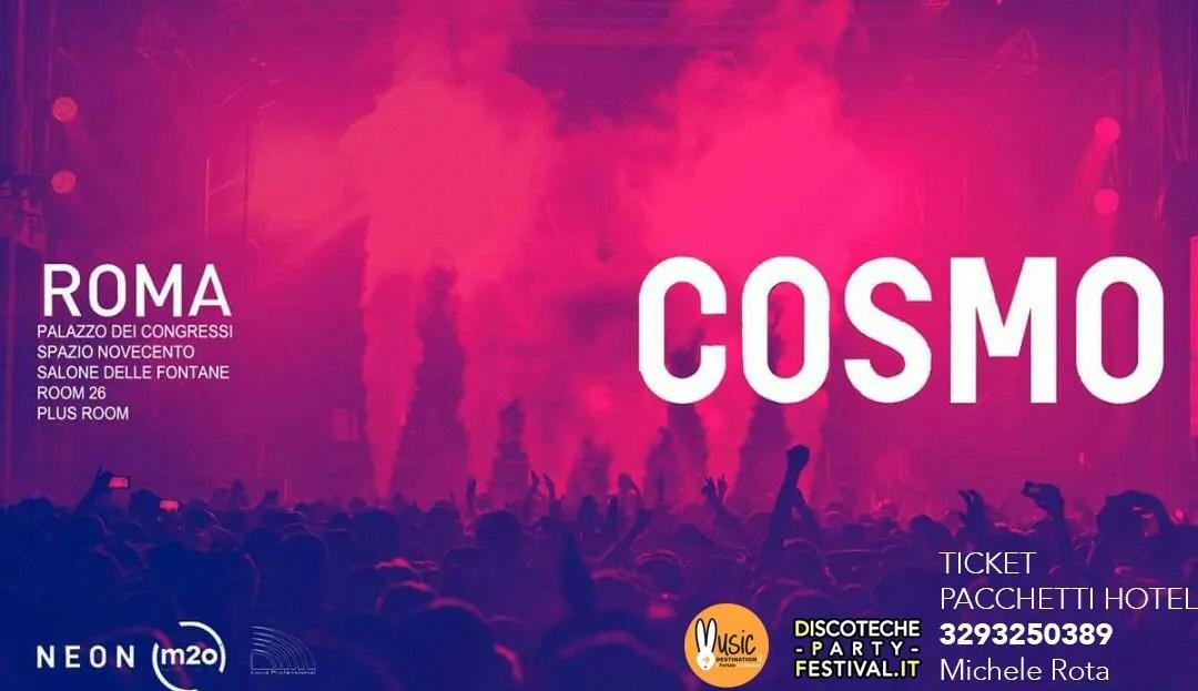 COSMO FESTIVAL CAPODANNO 2018 ROMA EUR 31 12 2017 + PREZZI PREVENDITE BIGLIETTI + PACCHETTI HOTEL PULLMAN