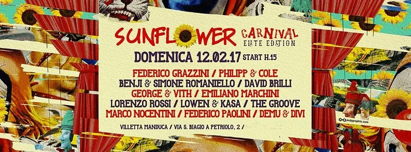 Sunflower 12 02 2017 Carnival Firenze