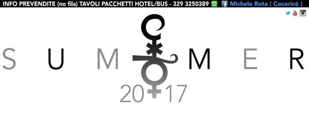 Cocorico programma estate 2017 lineup dj serate eventi