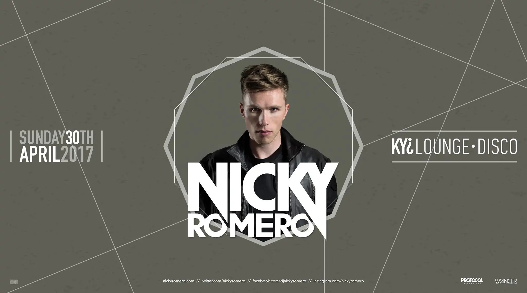 NICKY ROMERO KYI DISCO MODENA 30 APRILE 2017 – Prezzi Ticket Biglietti Tavoli Pacchetti Hotel