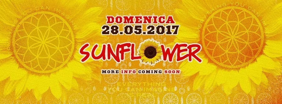Sunflower Firenze 28 05 2017 Opening Party