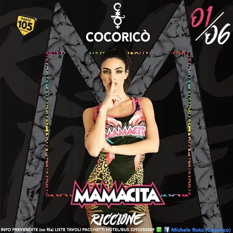 Cocorico Mamacita 01 Giugno 2017 Quadrata