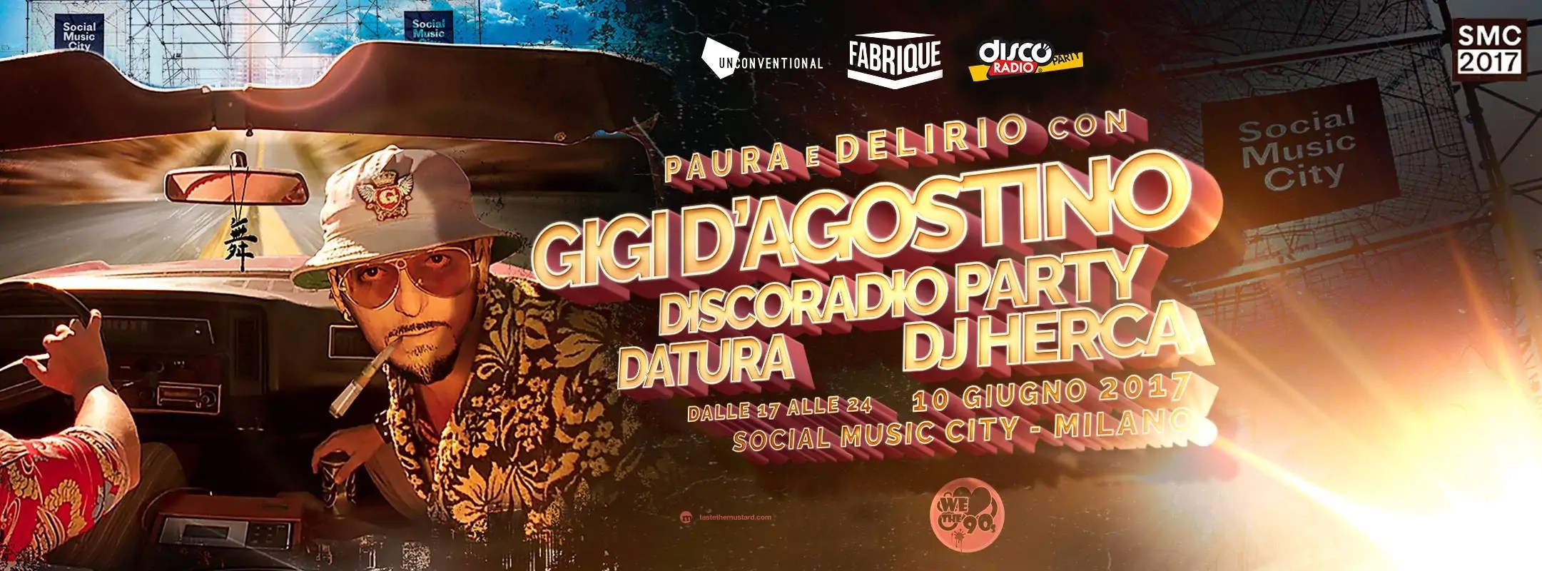 Gigi D'agostino Social Music City 10 06 207