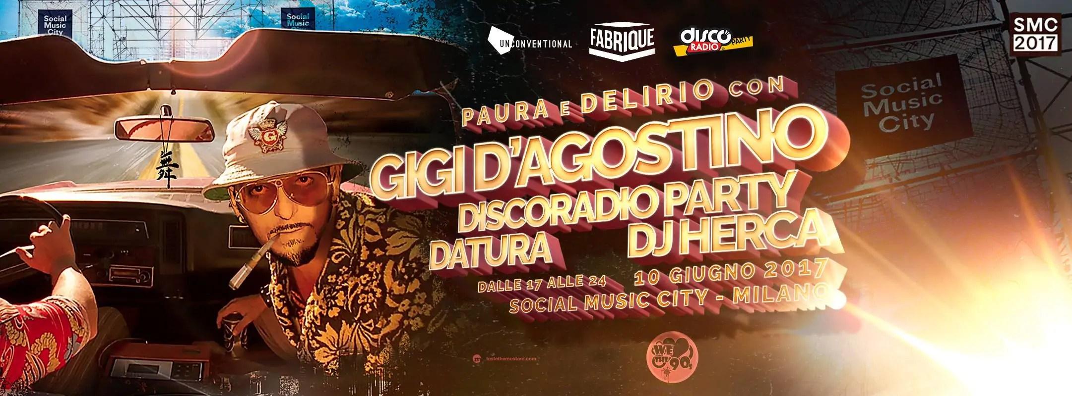 Gigi D'agostino Social Music City 10 06 207