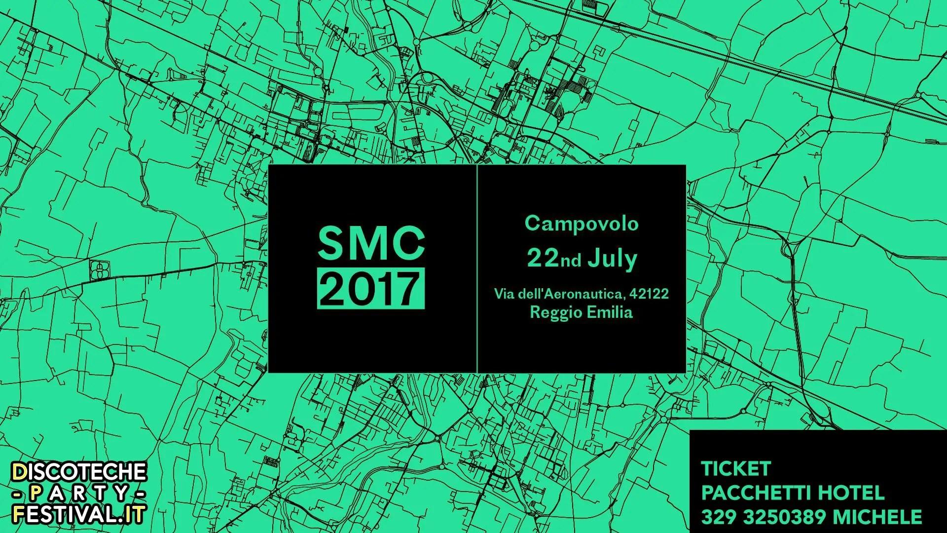 SOCIAL MUSIC CITY CAMPOVOLO Reggio Emilia 22 Luglio 2017 Ticket – Prevendite – biglietti Tavoli + Pacchetti Hotel