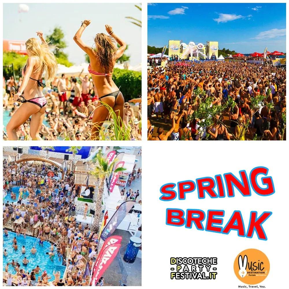 Spring Break 2018 Le informazioni sulle date e le località dove si svolgono