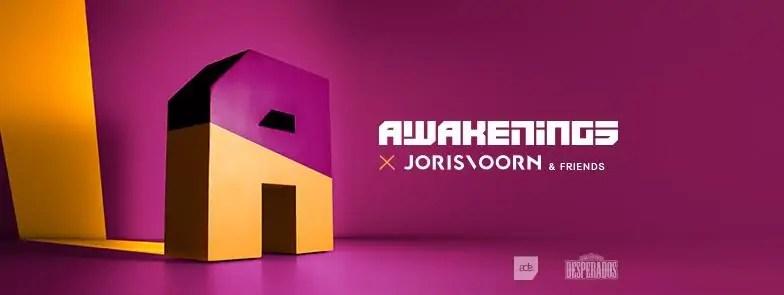 20 10 2017 Awakenings Festival Joris Vorn & Friends + Ticket + Hotel