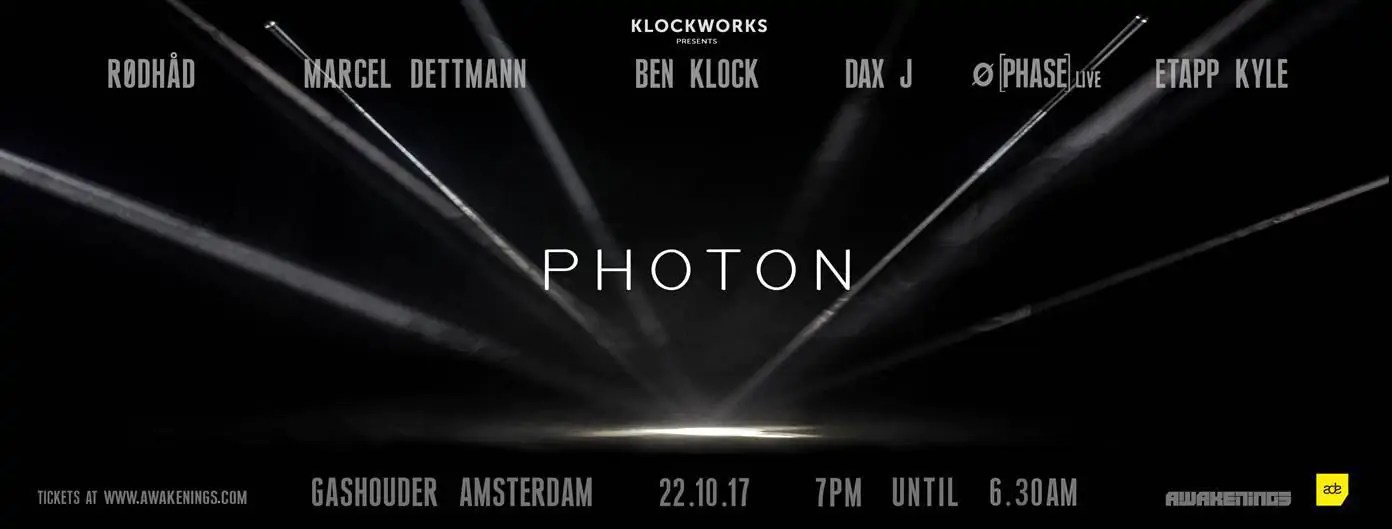 22 10 2017 Awakenings Festival KLOCKWORKS NIGHT + Ticket + Hotel
