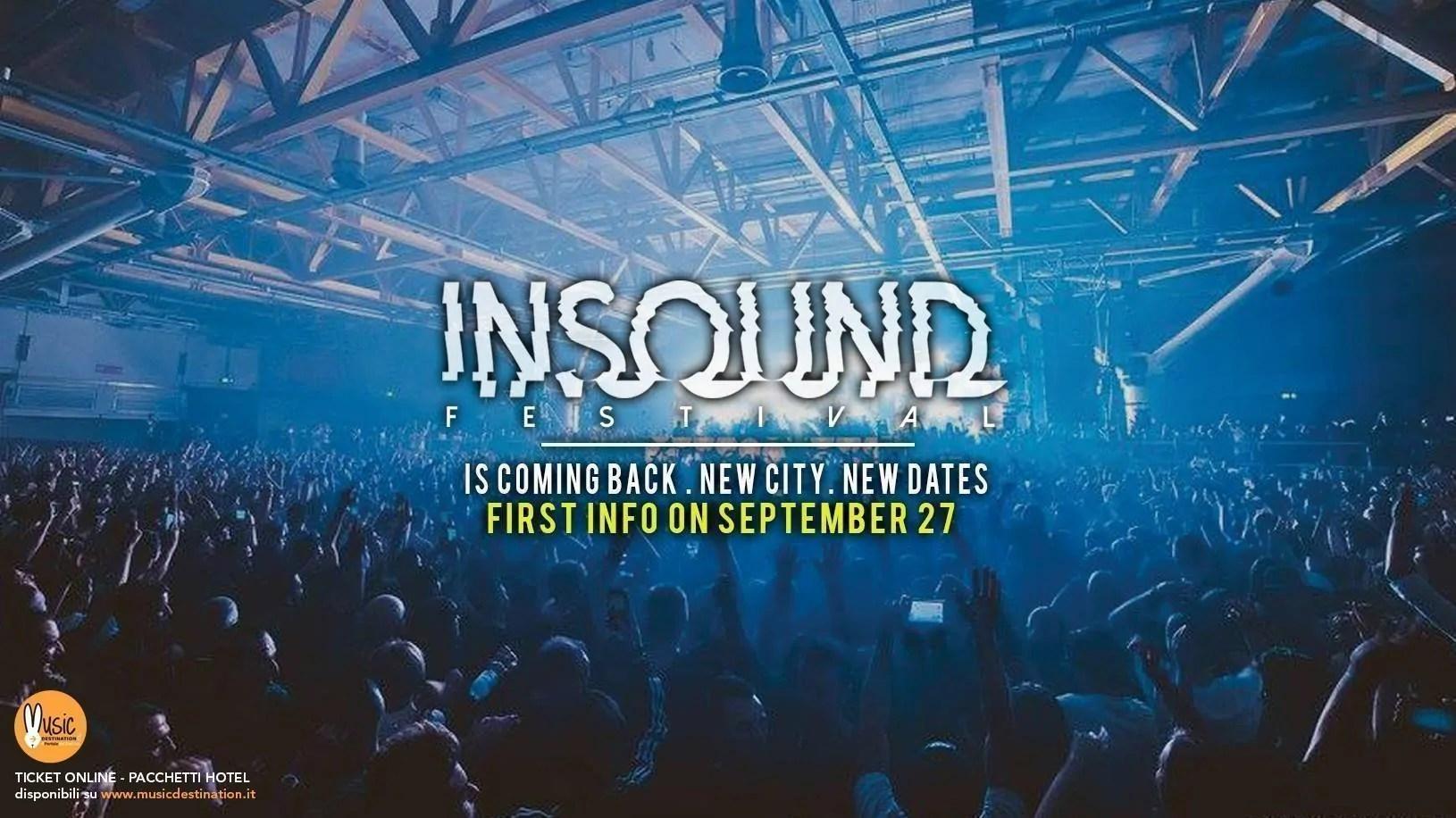 Insound Festival Firenze Capodanno 2018/2019 Obihall e Viper Theatre + Prezzi Ticket biglietti tavoli Pacchetti hotel