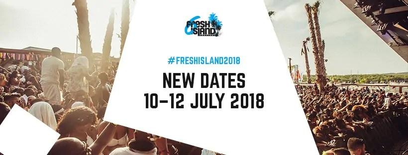 Fresh Island Festival 2018, 10 – 12 Luglio – Pag Croazia + Ticket e Pacchetti Appartamento