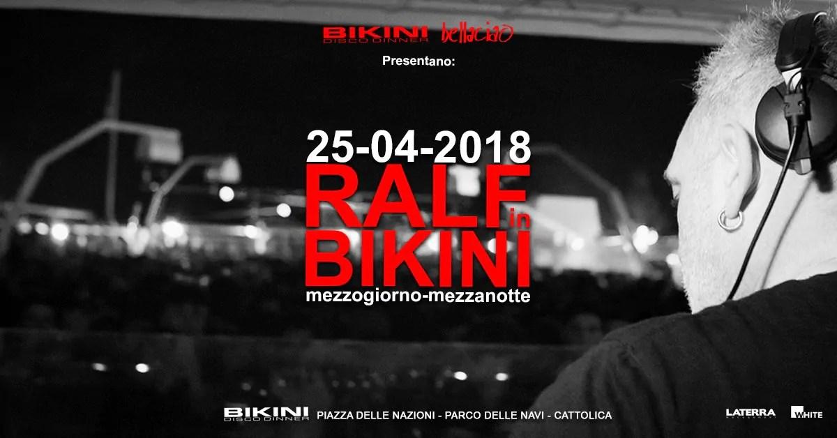 Ralf in Bikini Cattolica 25 Aprile 2018 – Mezzogiorno Mezzanotte